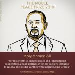 The Nobel peace prize winner, PM Dr. Abiy Ahmed Ali